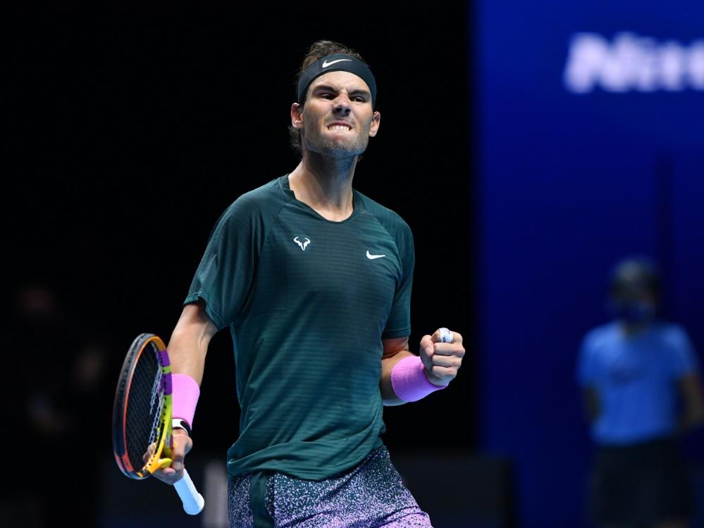 ATP Finals:  Nadal im Halbfinale - Thiem verliert gegen Rublew