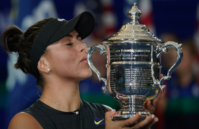 US Open title caps 'dream year' for Andreescu