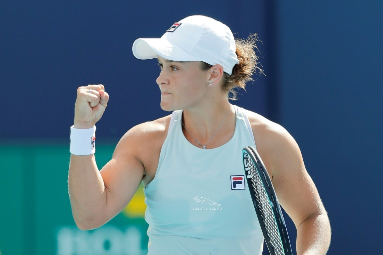 Australiana Barty es la primera finalista en Miami al vencer a Svitolina