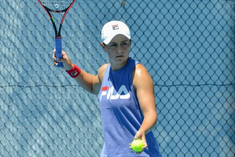 Hard work Barty's only focus ahead of Australian Open