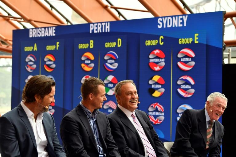 Coupe du monde ATP: la Serbie de Djokovic avec la France à Brisbane