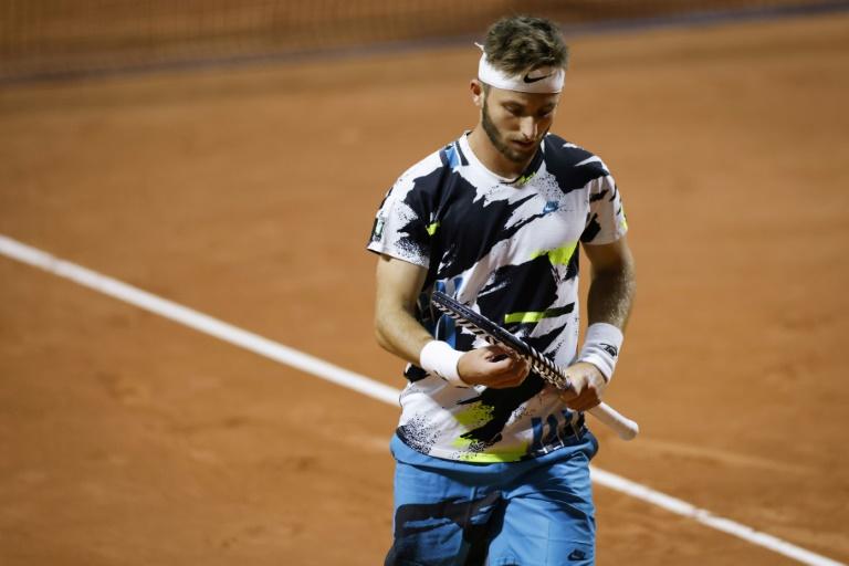 Roland-Garros: Moutet perd le 2e match le plus long de l'histoire à Paris