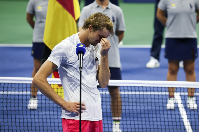 'I will be a Grand Slam champion,' says Zverev after US Open loss