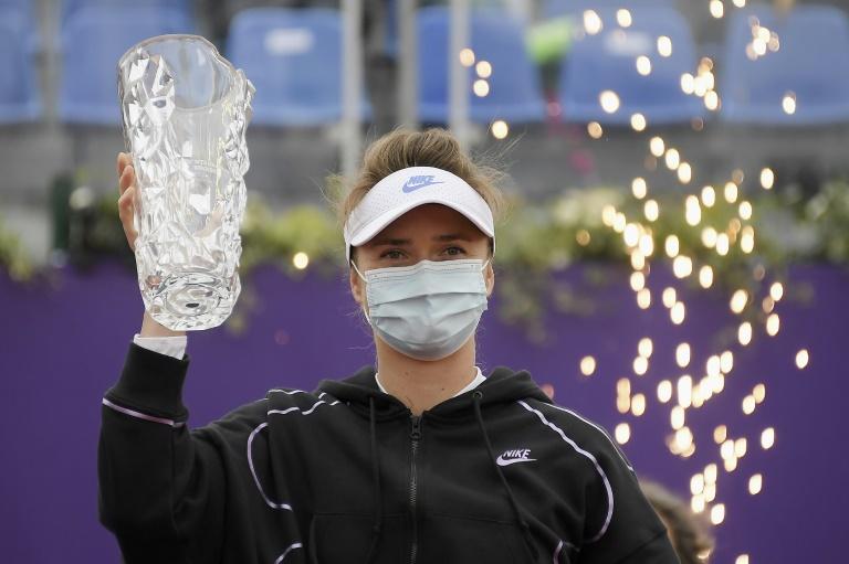 WTA: couronnée à Strasbourg, Svitolina fait le plein de confiance avant Roland-Garros