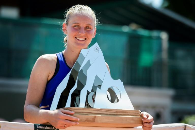 WTA: Fiona Ferro, sacrée pour la première fois à 22 ans à Lausanne