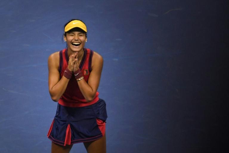 US Open champion Raducanu is teenage star in vogue