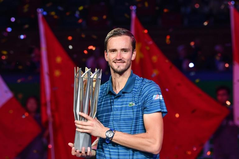 Daniil Medvedev remporte à Shanghai son 2e Masters 1000 d'affilée