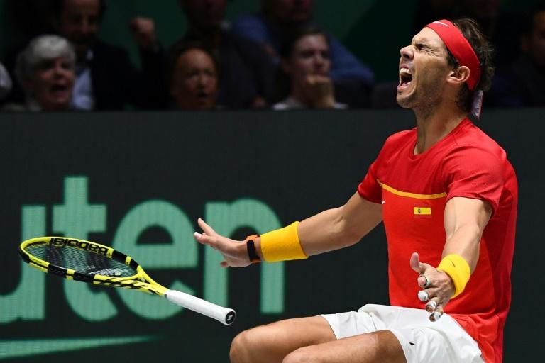 Rafael Nadal offre à l'Espagne sa 6e Coupe Davis