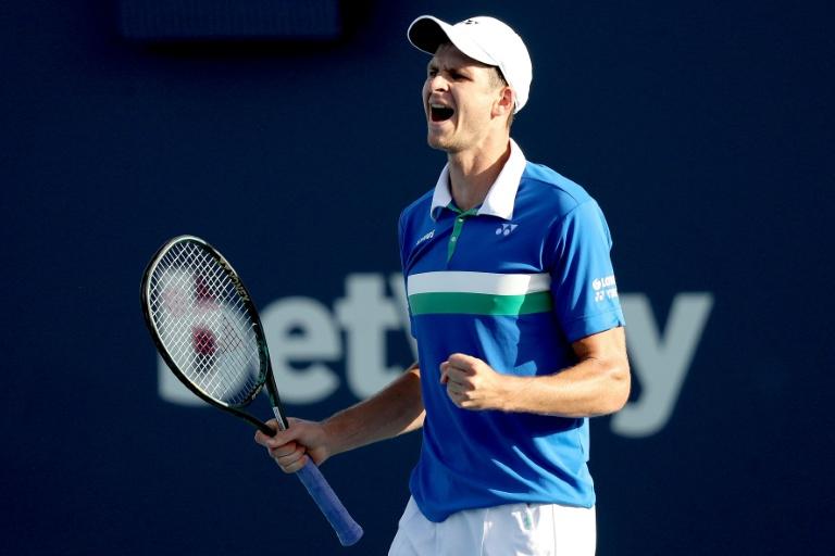 Hurkacz advances as Tsitsipas upset at Miami Open