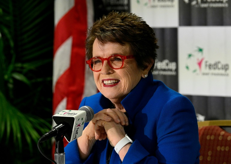 Billie Jean King honoured in Fed Cup rebrand