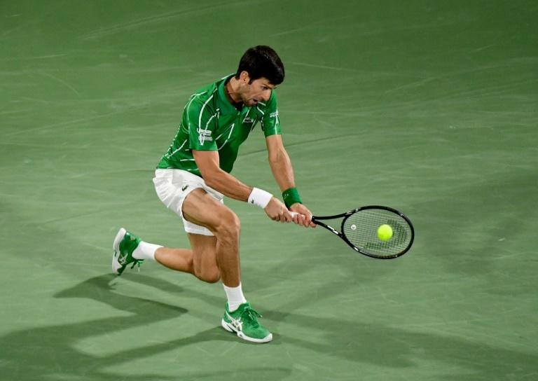 Djokovic doit passer l'obstacle Monfils pour aller en finale à Dubaï