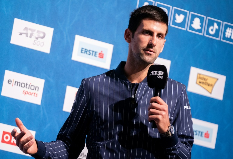Djokovic eyes 'amazing' Sampras year-end world number one record in Vienna