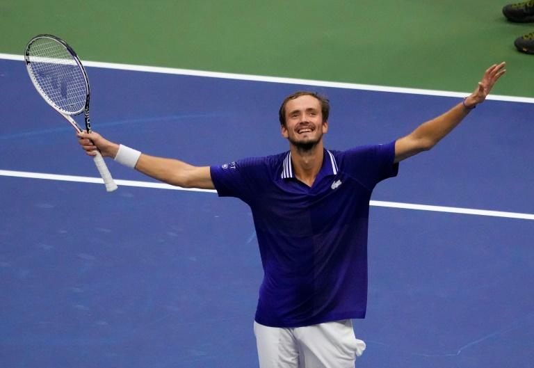 US Open: Enfin sacré, Medvedev, l'oiseau de feu devenu homme de glace