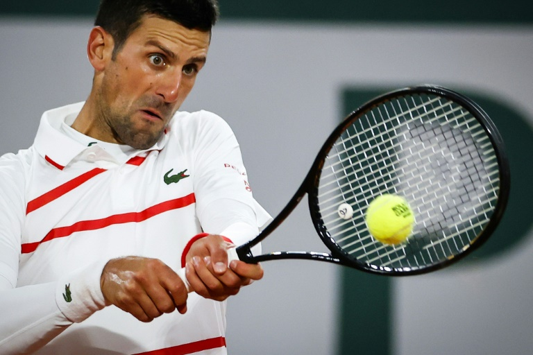 Roland-Garros: Djokovic sur le Central, Tsitsipas et Rublev en fin de programme