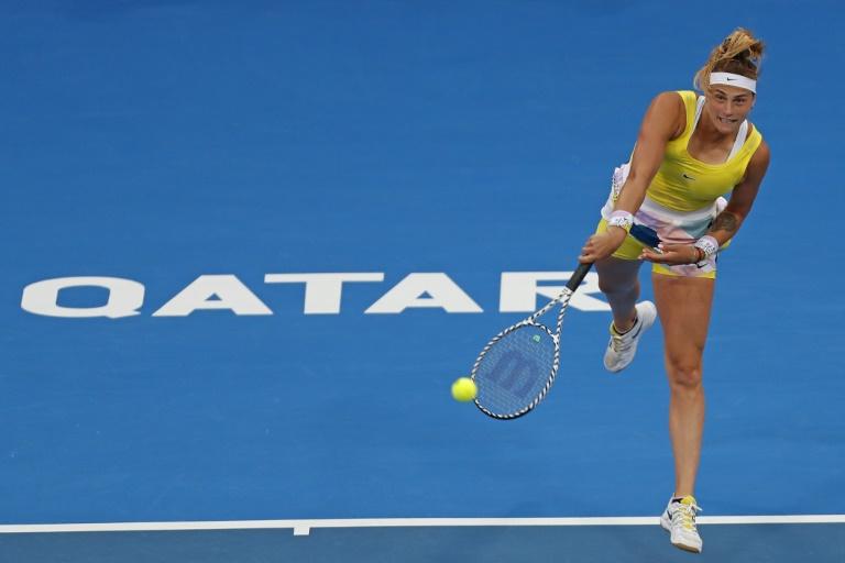 Sabalenka en finale à Doha