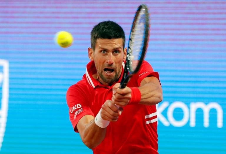 À Rome, Djokovic l'oeil rivé sur Roland-Garros