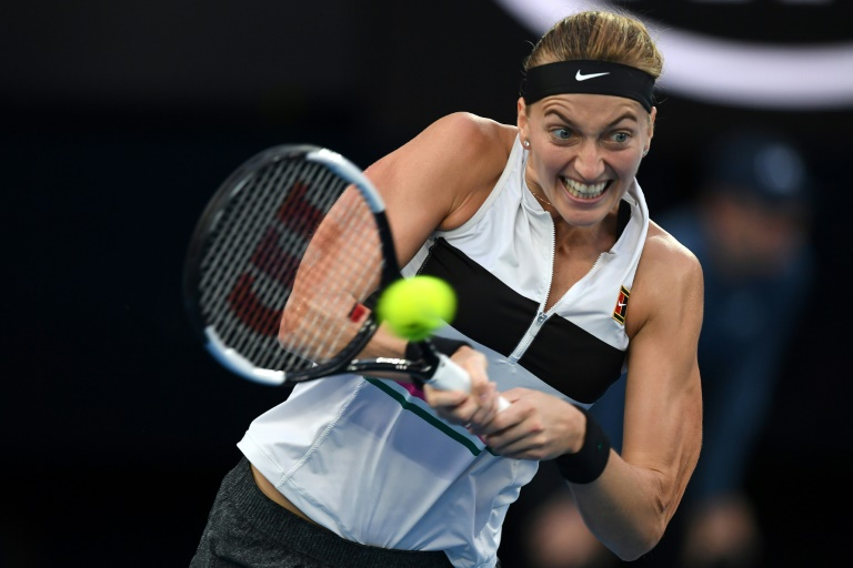 Kvitova relishes 'weird' training return with no goal