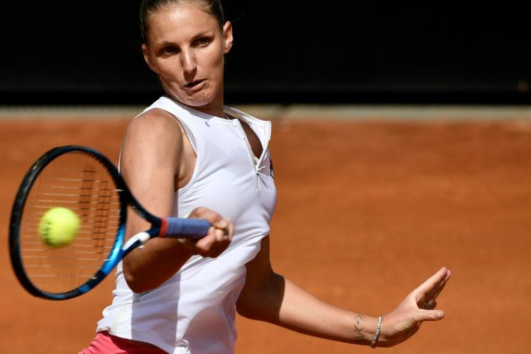 Rome: troisième finale en trois ans pour Pliskova, opposée à Swiatek