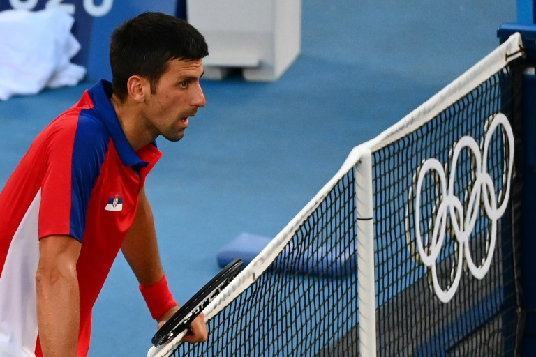 JO-2020/ Djokovic, blessé à une épaule, forfait pour le match pour la médaille de bronze en double mixte (ITF)