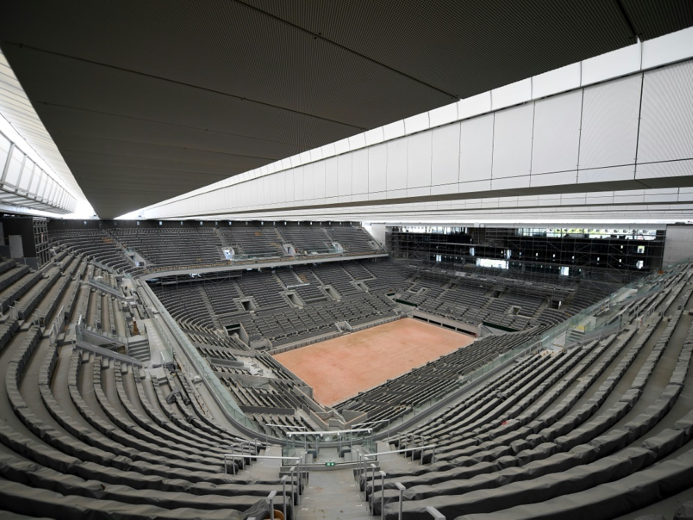 Trotz Corona:  French Open mit bis zu 20.000 Zuschauern am Tag