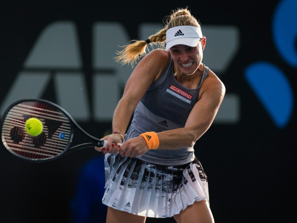 Turnier in Adelaide:  Kerber nimmt Auftakthürde ohne Probleme