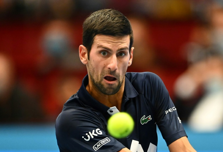 Djokovic wins Vienna opener to close on Sampras record